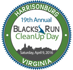 Blacks Run Cleanup Day Badge